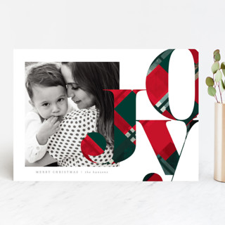 Merry Type Christmas Photo Cards