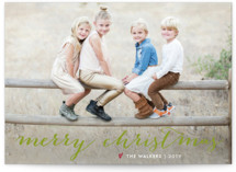 Simple Joy Christmas Photo Cards
