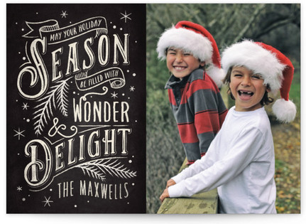 Wonder And Delight Christmas Photo...
