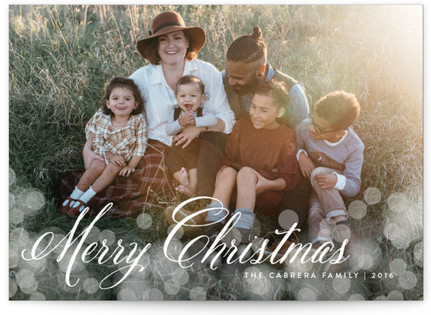 Christmas Glow Christmas Photo Cards
