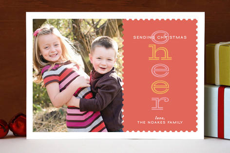 Cheer to You Christmas Photo Cards