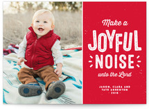 Joyful and noisy
