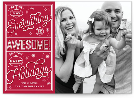Awesome Everything Christmas Photo Cards
