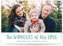 His wondrous love