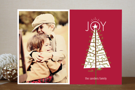 Home for the Holidays Christmas Photo Cards