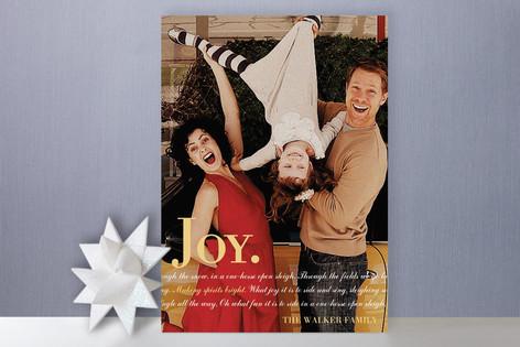 Holiday Nostalgia Christmas Photo Cards