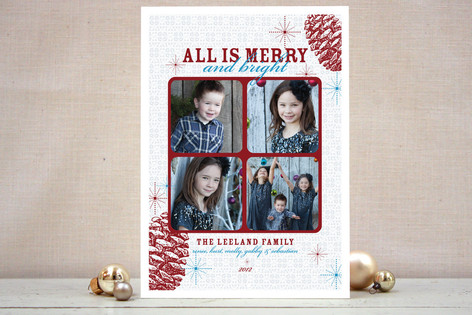 Merry and Bright Christmas Photo Cards