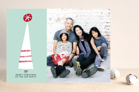 Tinseltown Christmas Photo Cards