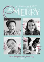 We Do Merry Christmas Photo Cards