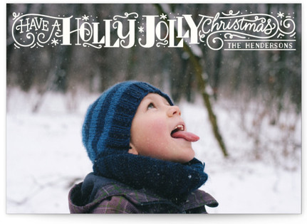 Holly Jolly Christmas Christmas Photo Cards