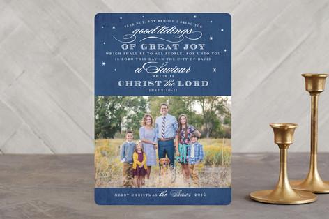 Luke 2 Christmas Photo Cards