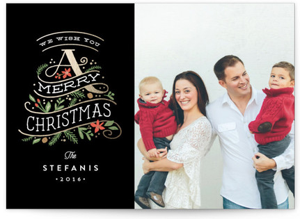 A beautiful holiday Christmas Photo Cards