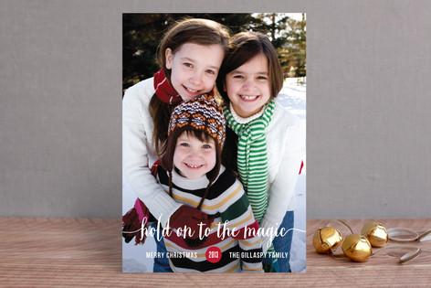 Magical Christmas Photo Cards