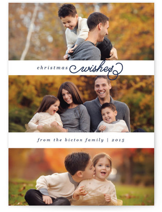 Simply Scripted Christmas Photo Cards