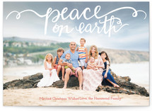 Hand Painted Peace on Earth