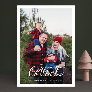 Poste Christmas Photo Cards