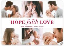 Hope Faith Love