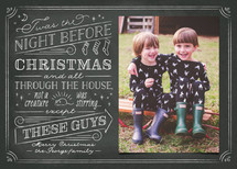 The Night Before Christmas Photo Cards