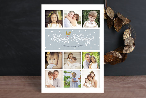 Snowdrop Christmas Photo Cards