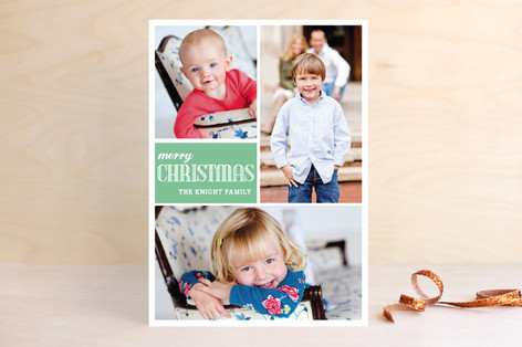 Simply Family Christmas Photo Cards
