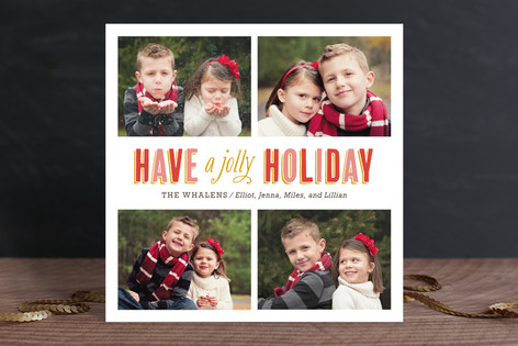 So Merry & Bright Christmas Photo Cards