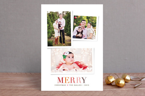 Holiday Snapshots Christmas Photo Cards