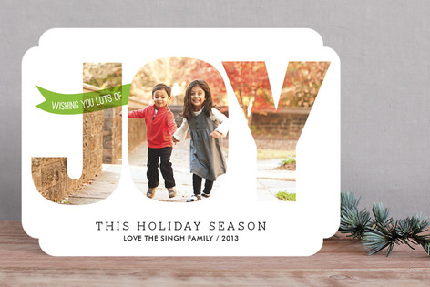 Spreading Joy Christmas Photo Cards