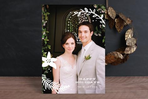 Holiday Overlay Christmas Photo Cards