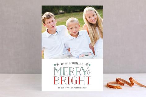 Light Bright Christmas Photo Cards