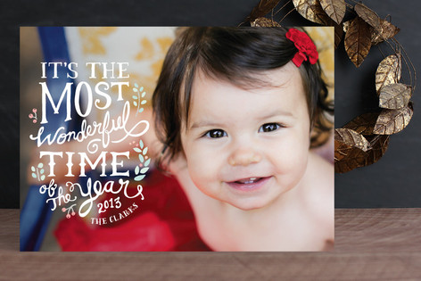 Most Wonderful Christmas Photo Cards
