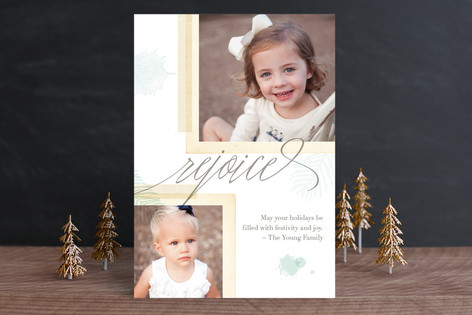 Ethereal Greetings Christmas Photo Cards