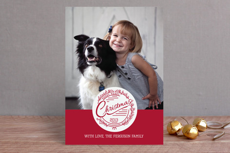 Merry Merry Christmas Christmas Photo Cards