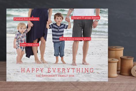 Conversation Bubble Christmas Photo Cards