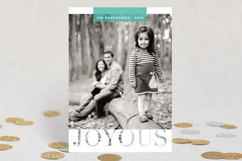 A  Simple  Joy Christmas Photo Cards