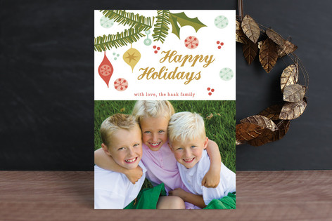 More Than Merry Christmas Photo Cards