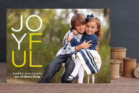 Joynormous Christmas Photo Cards