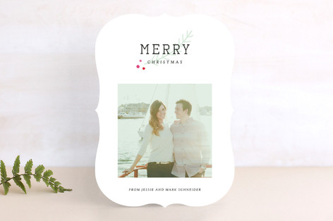 Frenchie Christmas Photo Cards