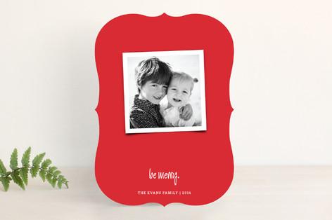 Joyfully Modern Christmas Photo Cards
