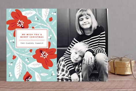Modern Storybook Christmas Photo Cards