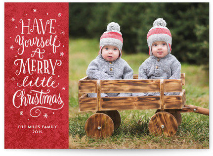 Christmas Whimsy Christmas Photo Cards