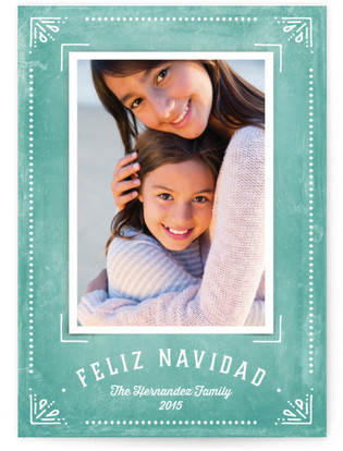 Feliz Framed Christmas Photo Cards