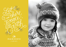 Peaceful Pines Christmas Photo Cards