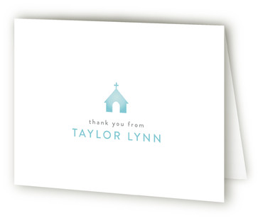 Child Of God Baptism and Christening Thank You Cards