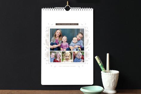 Floral Frame Standard Calendars