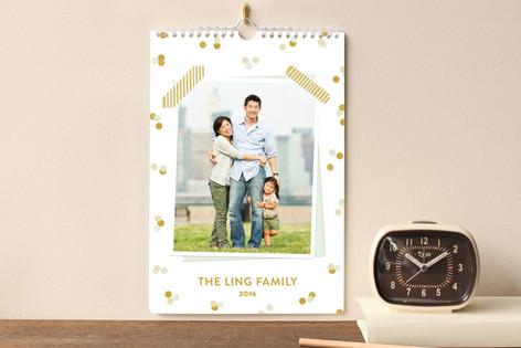 Washi and Confetti Standard Calendars