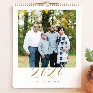 Elegant Golden Year Calendars