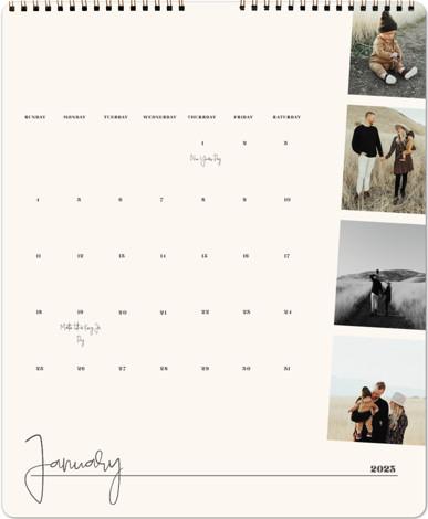 Top to Bottom Calendars
