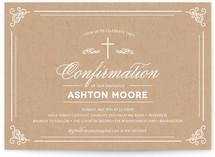 Krafty Confirmation Invitations