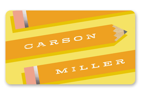 Pen Pal Custom Name Label