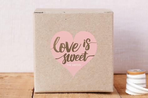 Love Is Sweet Custom Stickers